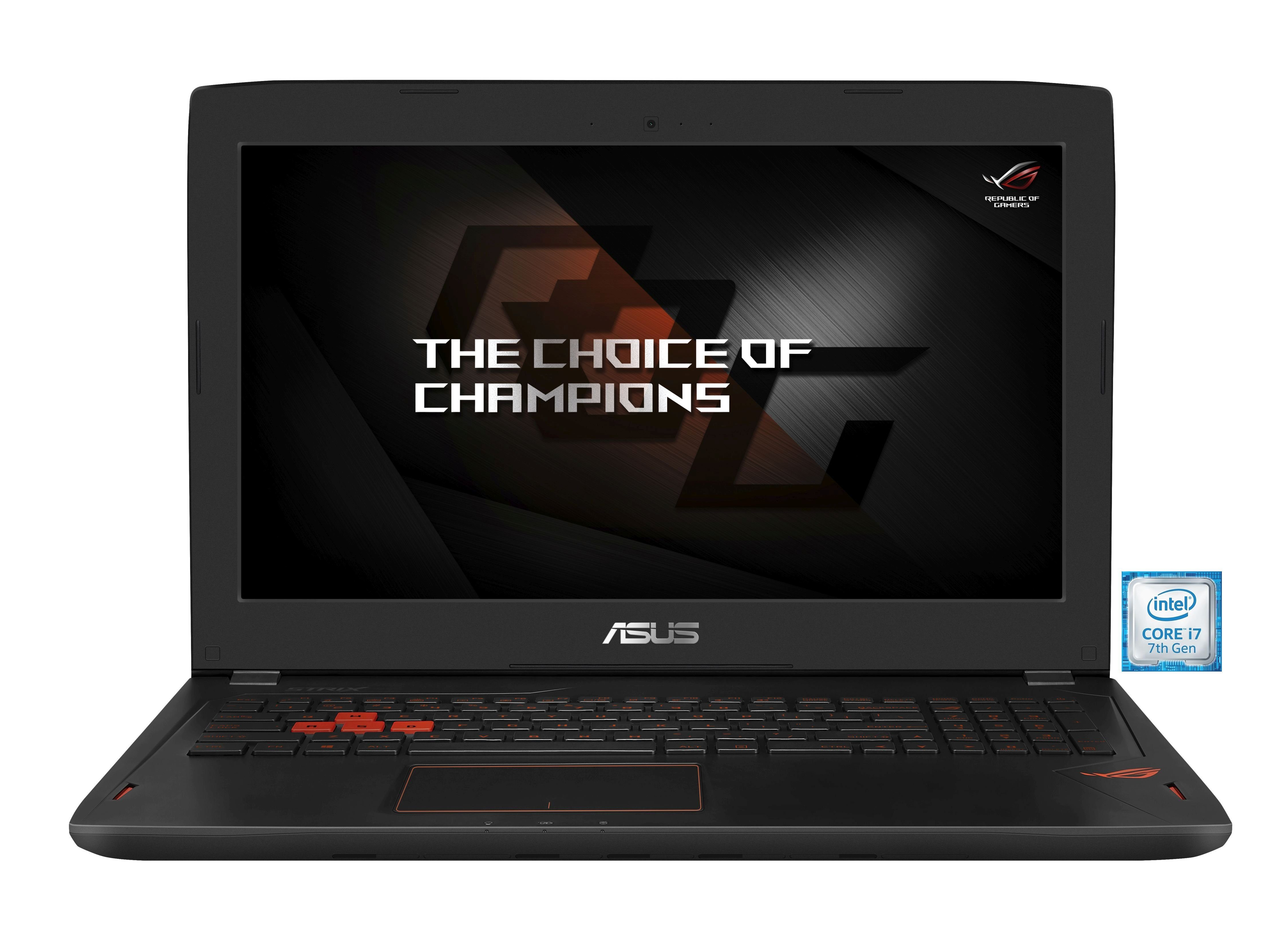 "ASUS ROG GL502VS-GZ222T Gaming Notebook »Intel Core i7, 39,6cm (15,6""), 256 GB + 1 TB, 16GB«"
